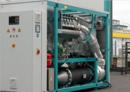 Block heat and power plant, 500 kVA, new