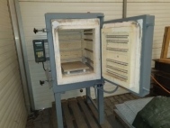 Chamber kiln, electrically heated, 150 liter, 1240 °C, used